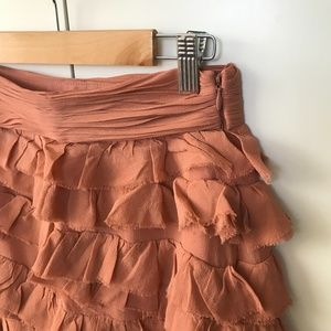 Club Monaco Salmon Mini Dress